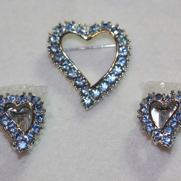 Fashion Jewelry Kind-Hearted Beautiful Blue Rhinestone Brooch Reasonable Price Jewelry & Watches